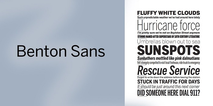 benton sans medium font free download