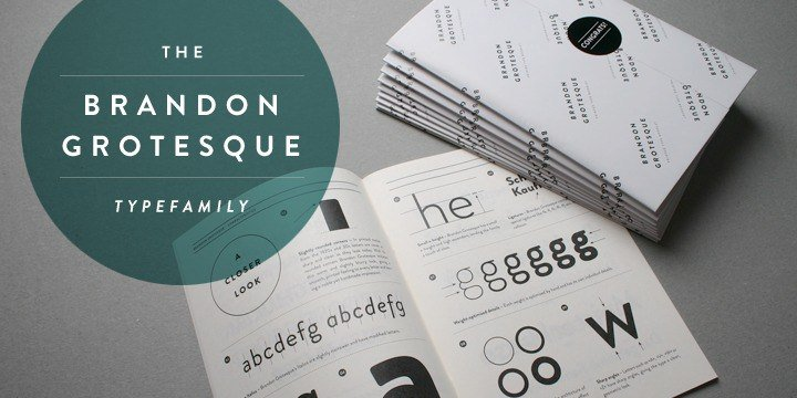 Brandon Grotesque Font Family Free - Download Fonts