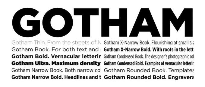 Gotham Font Family Free - Download Fonts
