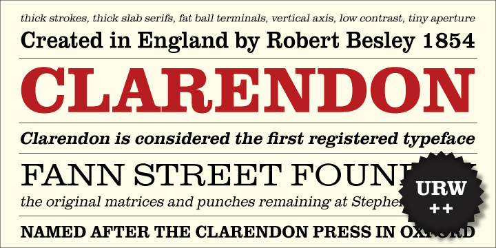 Clarendon Font Family Free - Download Fonts