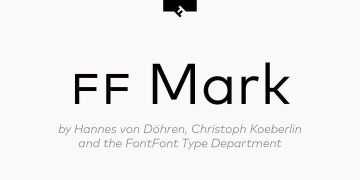 FF Mark Font Family Free - Download Fonts
