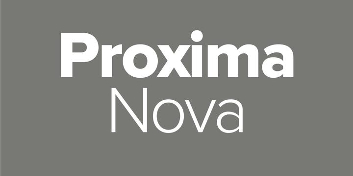 proxima nova italic font free download