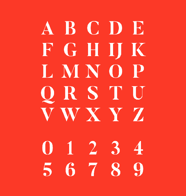Butler-free-font-uppercase-numbers