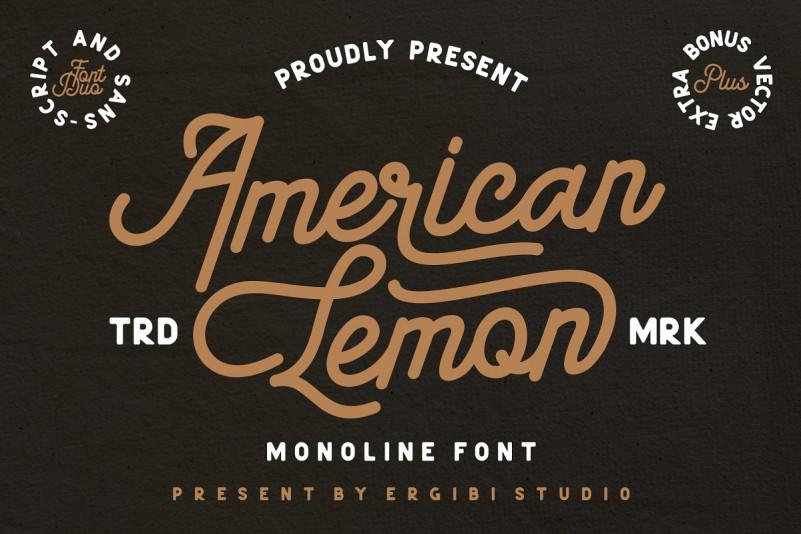 american-lemon-font-duo