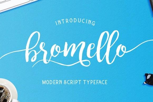 Bromello Font Family