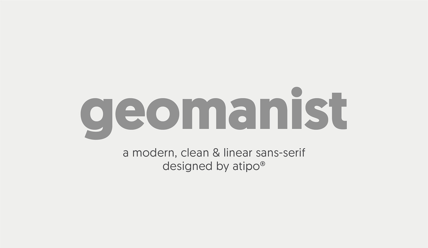 geomanist-font-family
