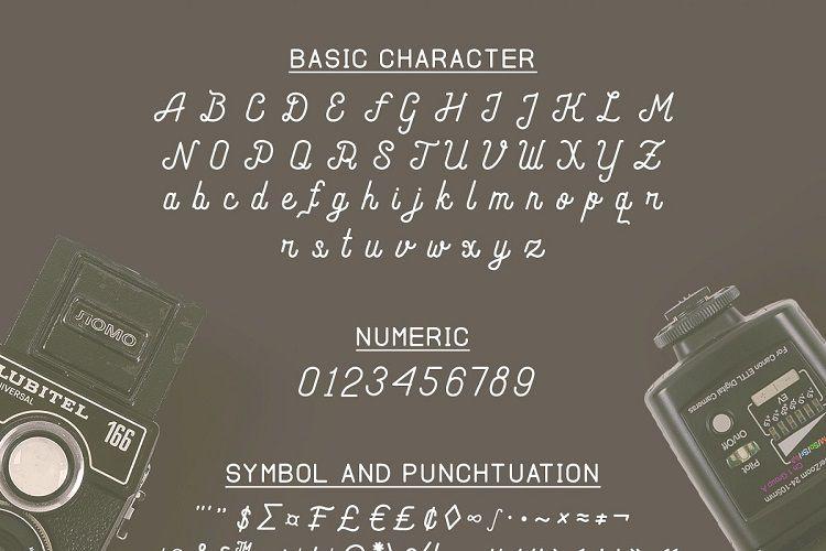 Andara Script Font-2