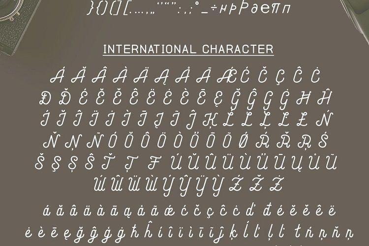 Andara Script Font-3