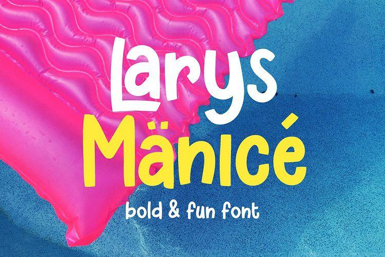Larys Manice Font