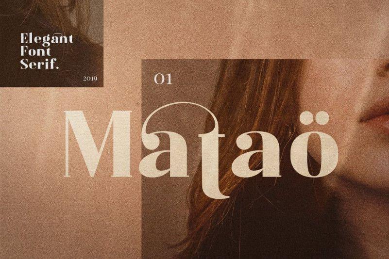 Mataö Serif Font - Download Fonts