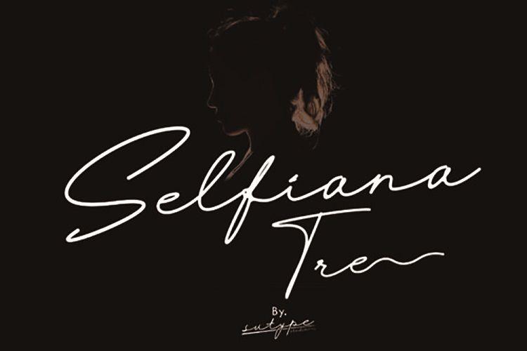Selfiana_Tre_Script_Font_1
