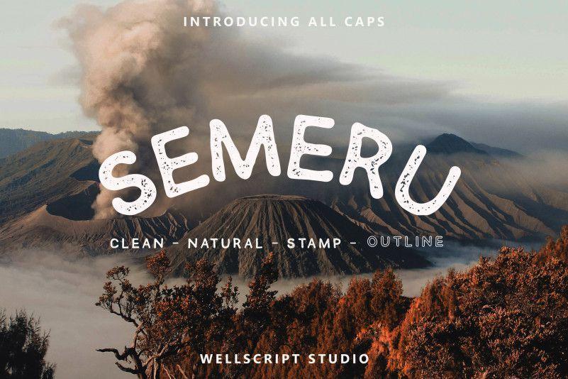 Semeru-Sans-Font