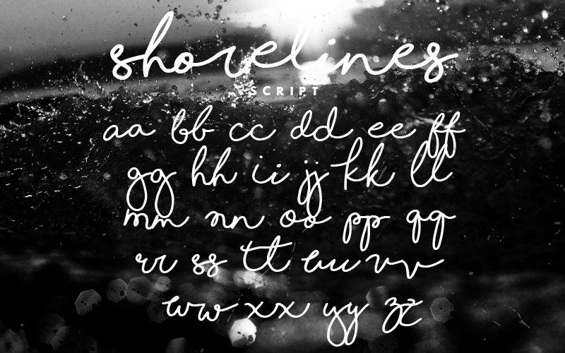 Shorelines Script Font-3