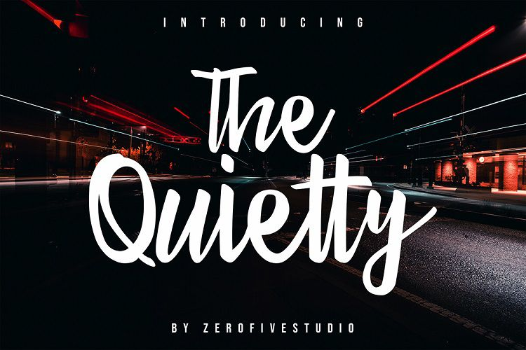 The_Quietty_Free_Script_Font_zerofivestudio_091119_prev1