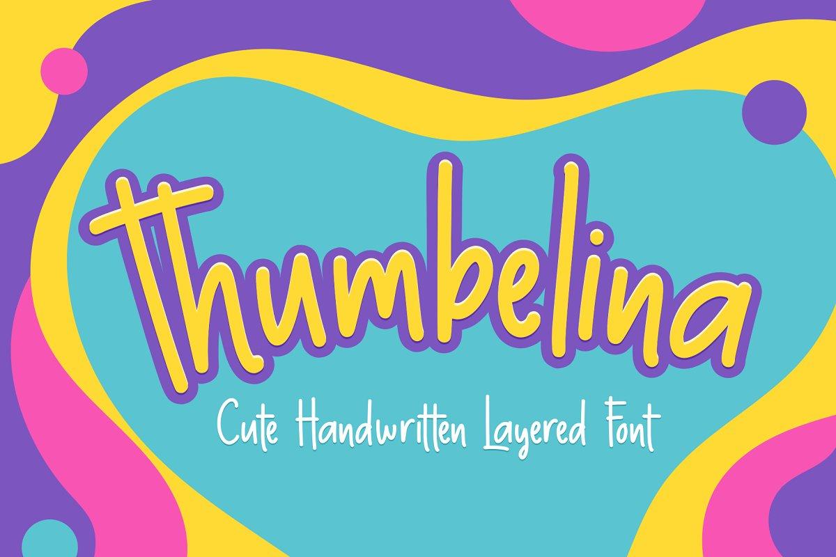 Thumbelina_Free_Handwritten_Font_1