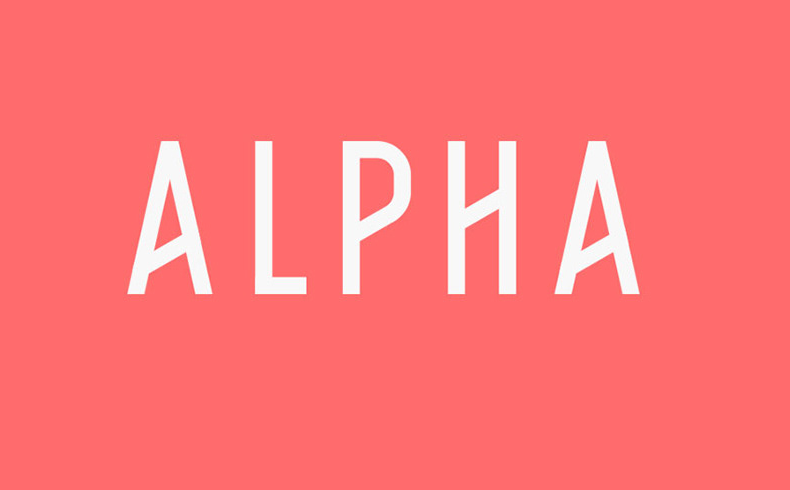 alpha-font-family