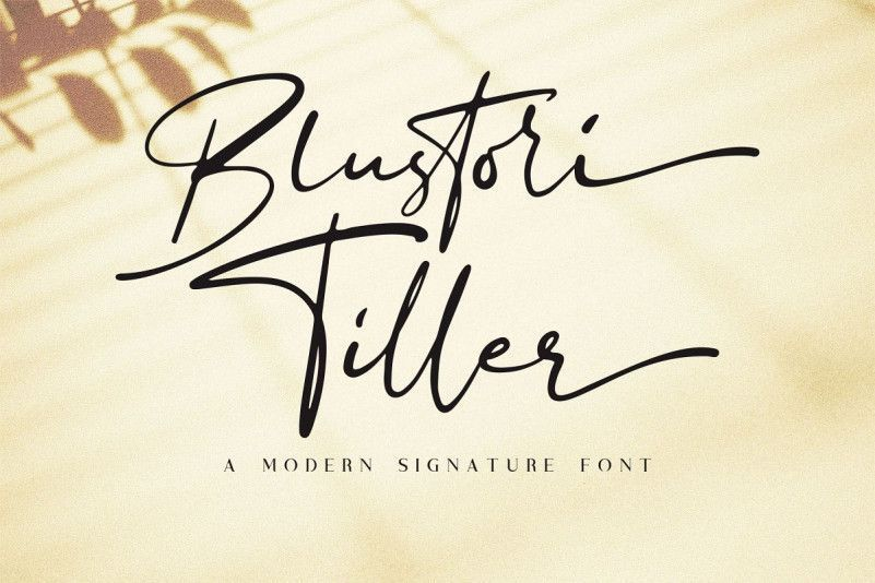 blustori-tiller-signature-font-1