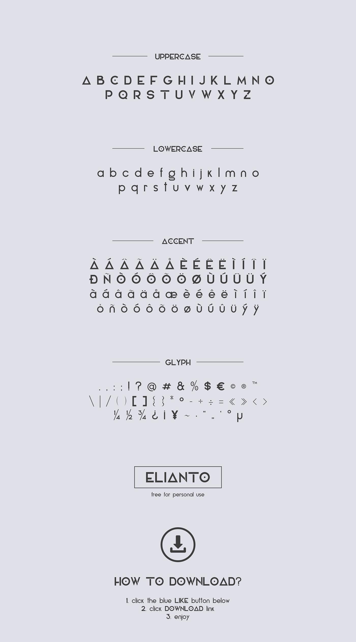 elianto-font