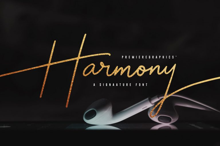 harmony-signature-font-768x510