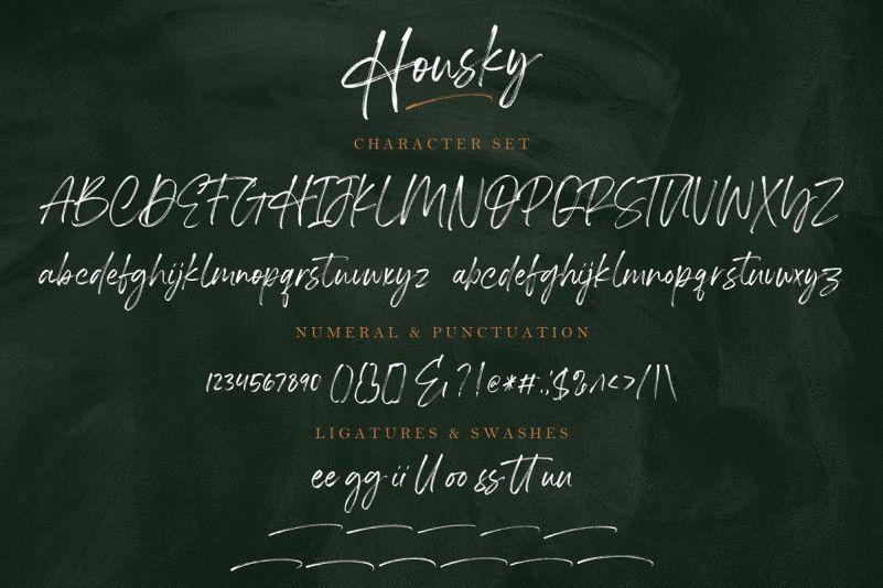 housky-brush-font-3