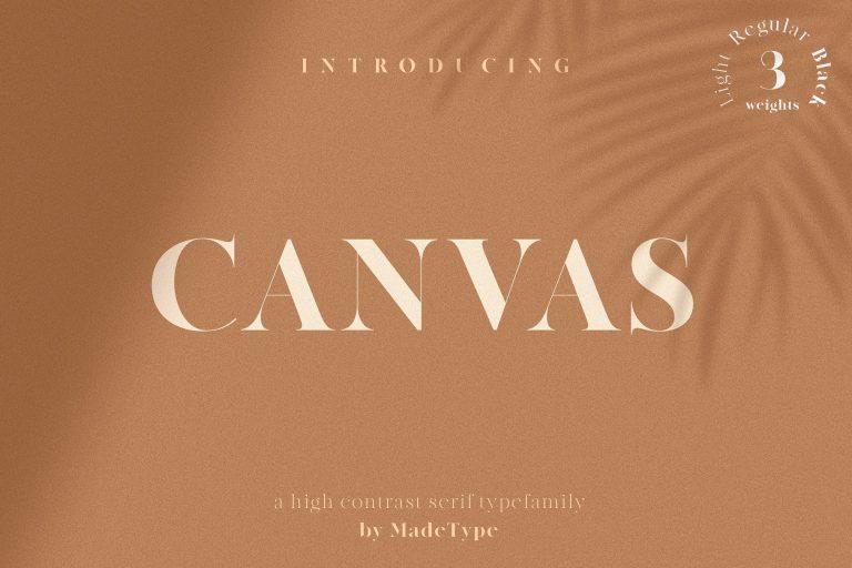 made-canvas-serif-font