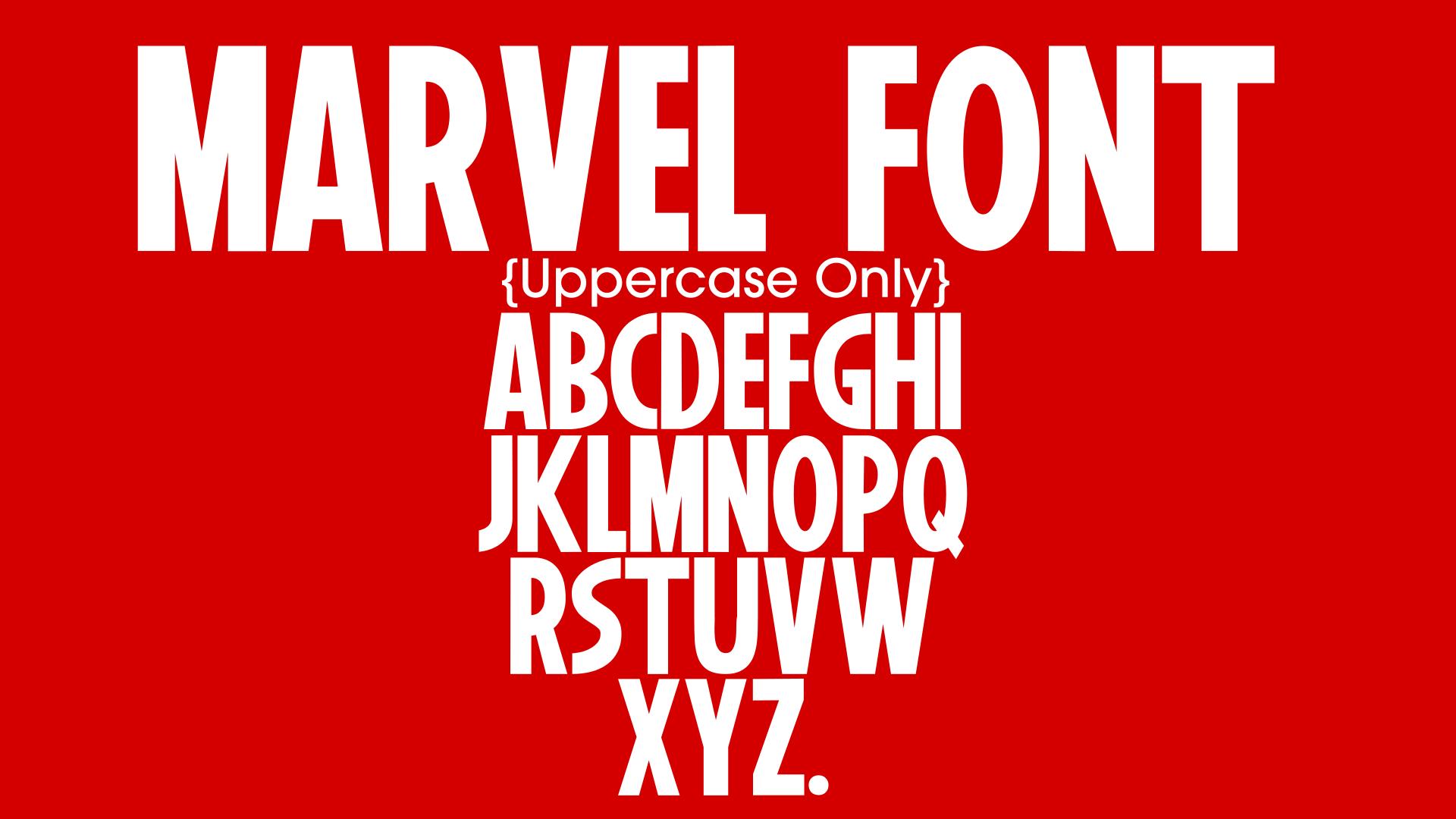 marvel-font-poster-design-36436