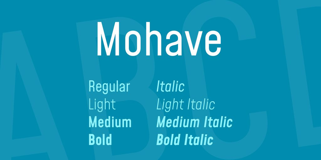 mohave-font-1