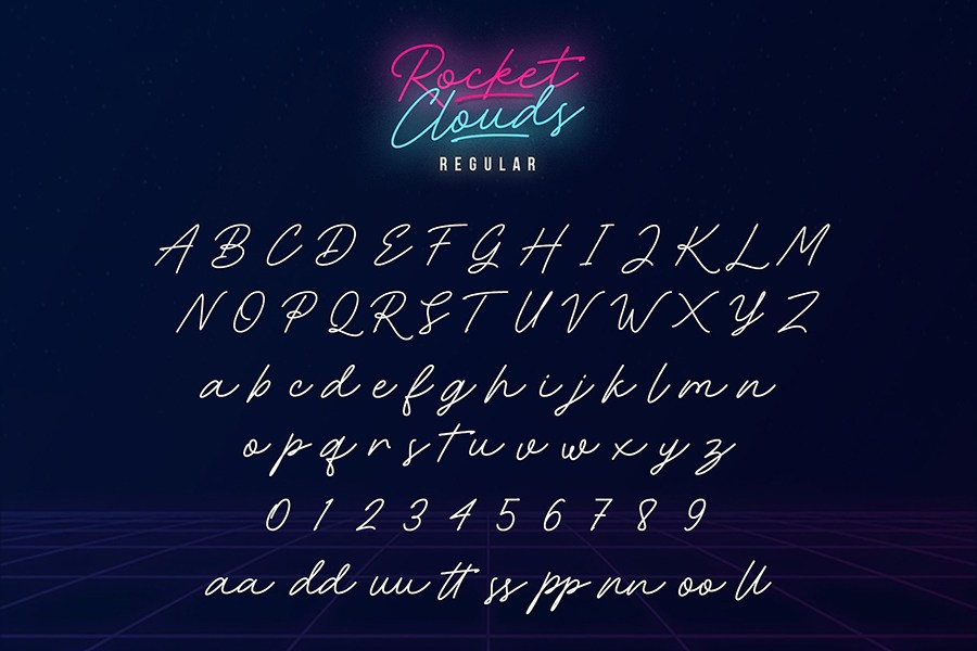 rocket-clouds-font-2