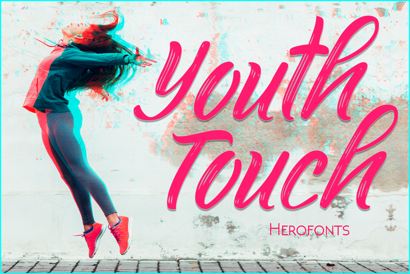 youth-touch-demo-font-outdoor-handwriting-32859