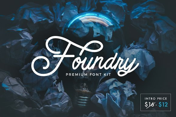 Foundry Font Kit