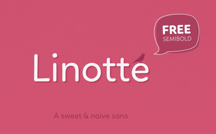 Linotte Typeface