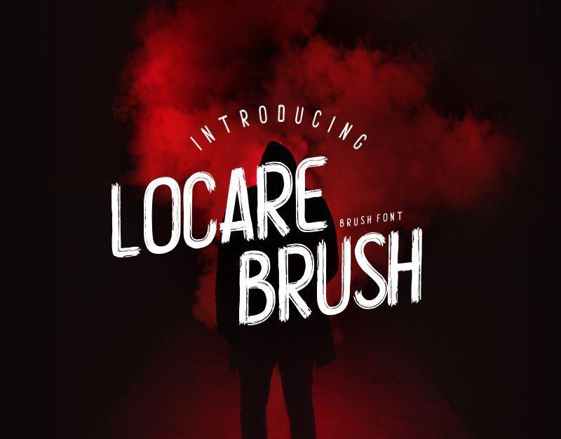 Locare-Brush-Font
