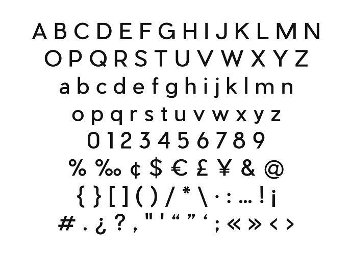 Pier Sans Font Family-2