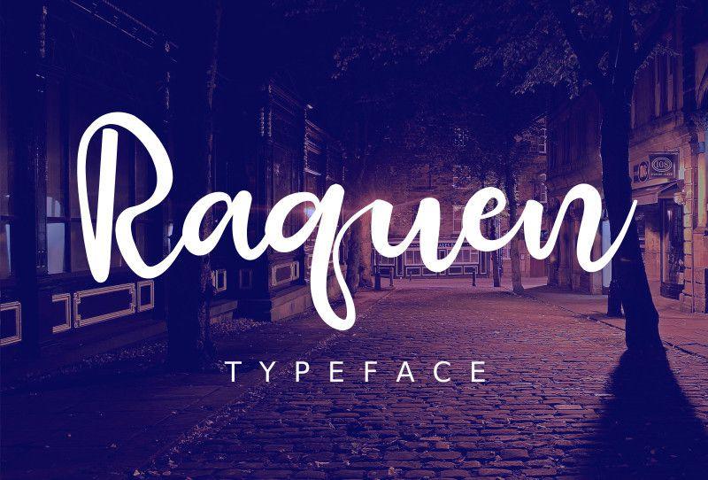 Raquen Script Font-1
