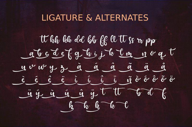 Raquen Script Font-3