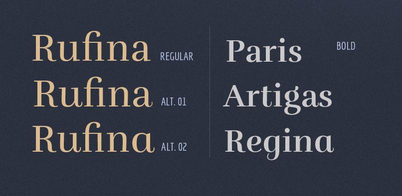 Rufina-font