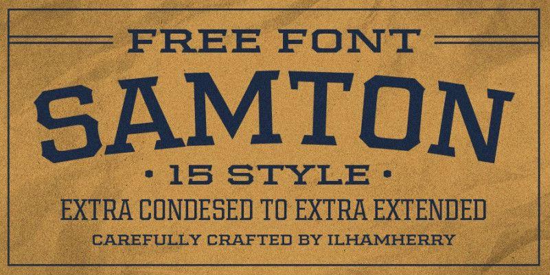 Samton-font