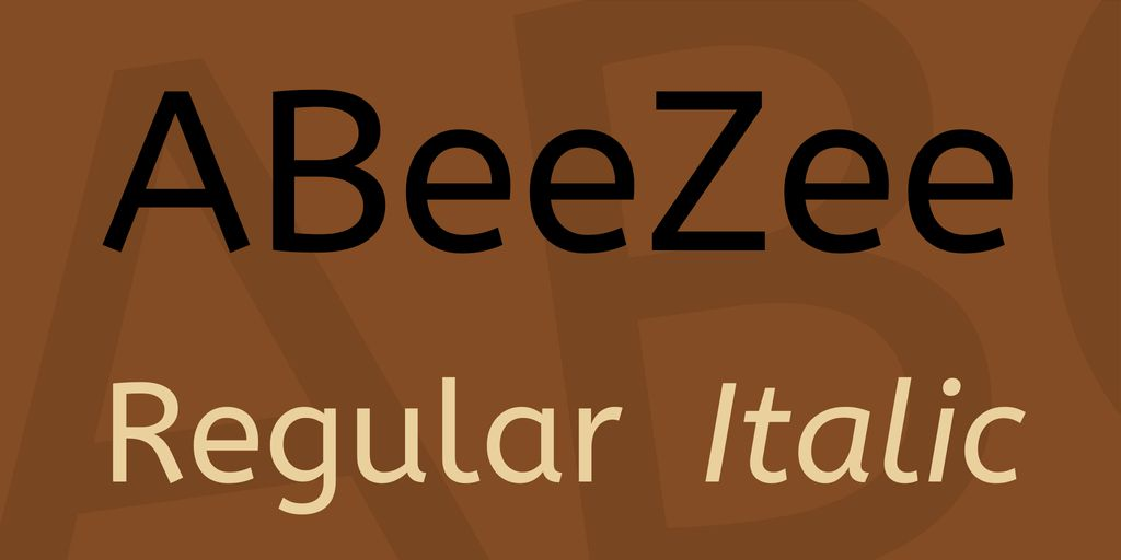 abeezee-font
