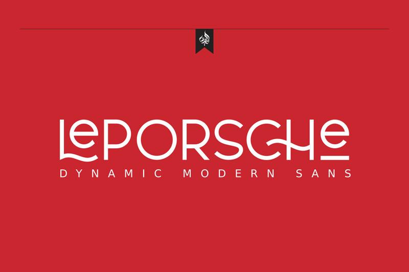 al-leporsche-retro-font