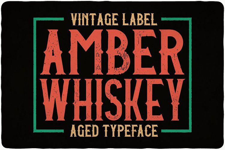 amber-whiskey-typeface-1