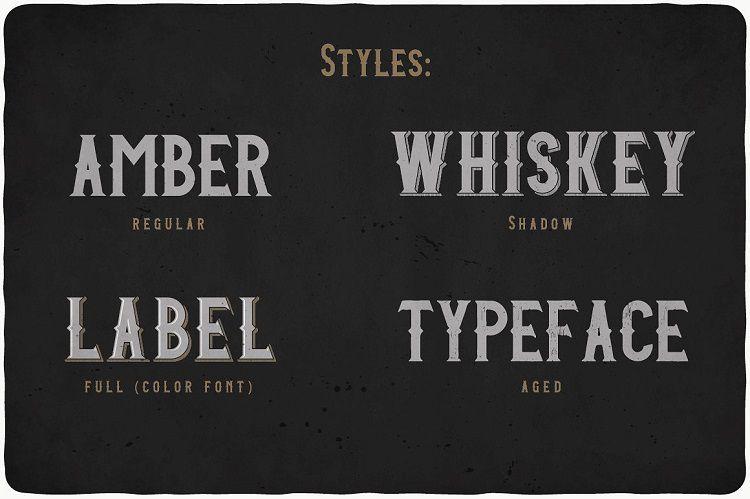 amber-whiskey-typeface-2