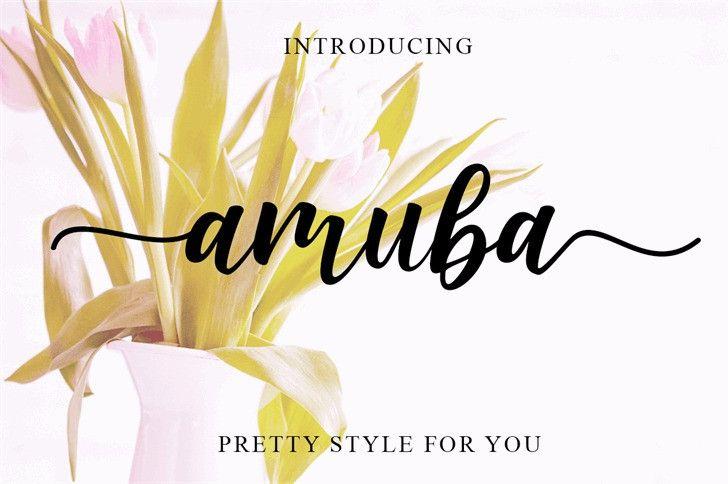 amuba-font-1