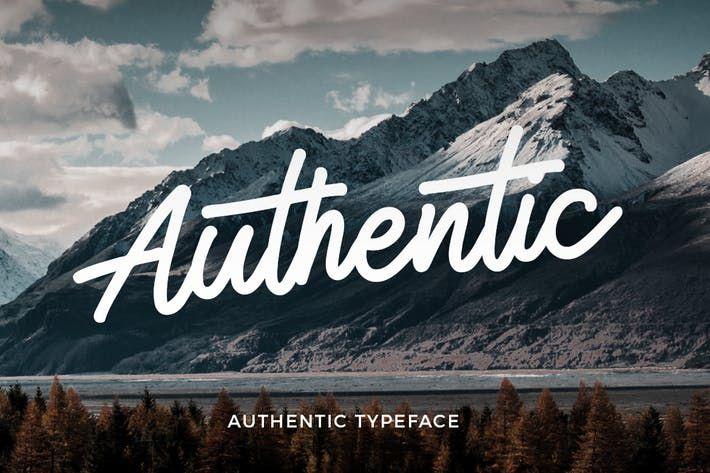 authentic-monoline-script-font