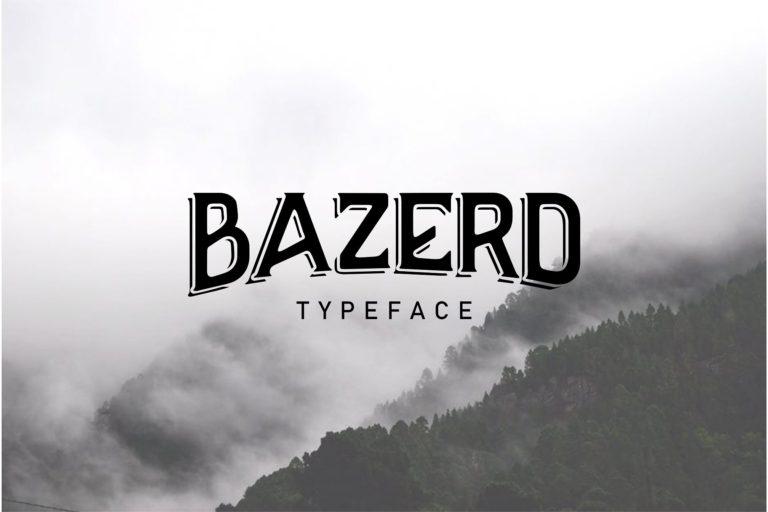 bazerd-typeface