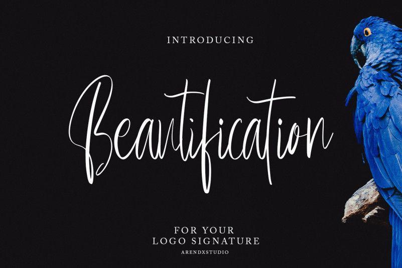 beautification-font