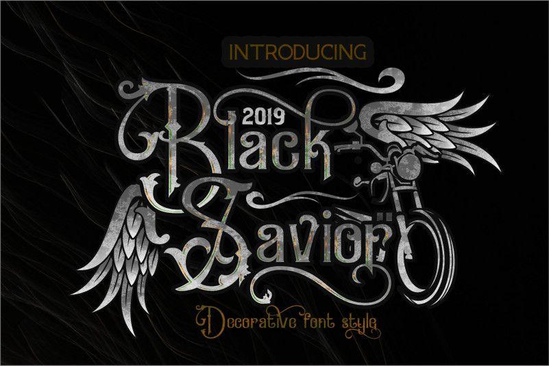 black-savior-font-1
