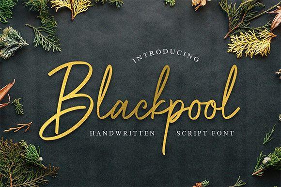 Blackpool Font