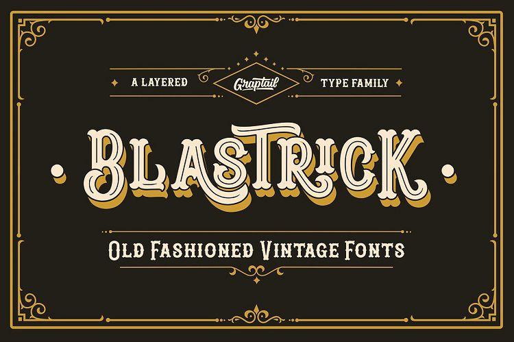 blastrick-vintage-font