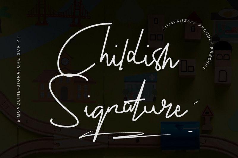 childish-font