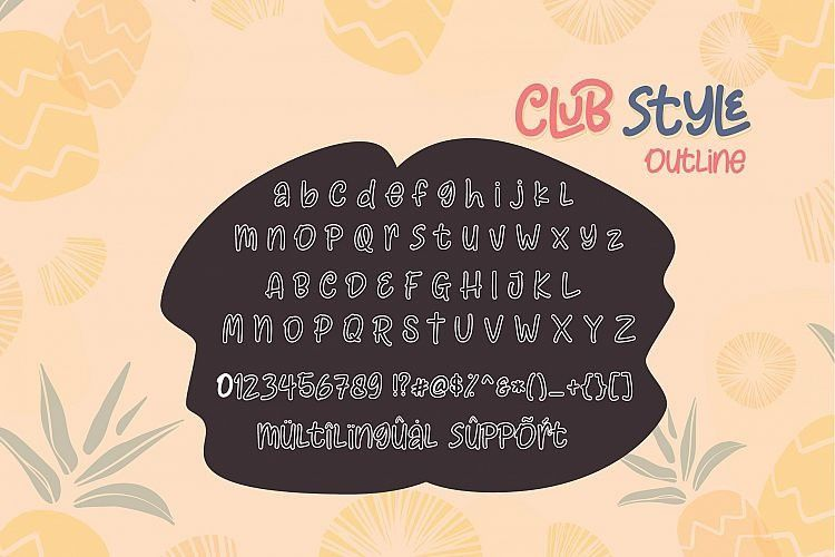 Club Style Font Family